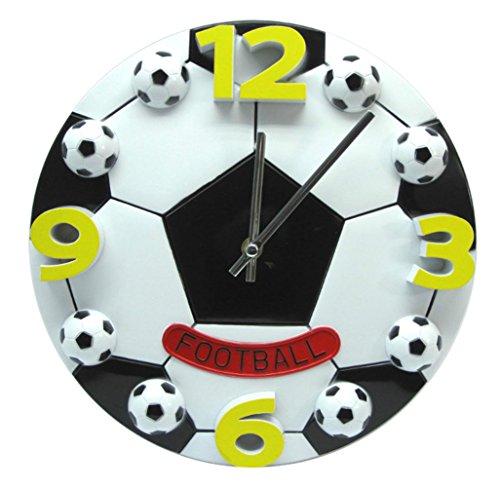 Football Inch Clock Wall 12 - Amazon Black Sales Friday Deals Cyber Sales Monday Deals - 3D 12