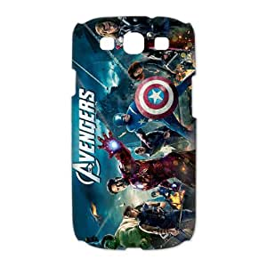 Samsung Galaxy S3 I9300(3D) Phone Case for The Avengers Classic theme pattern design GQTAS733089