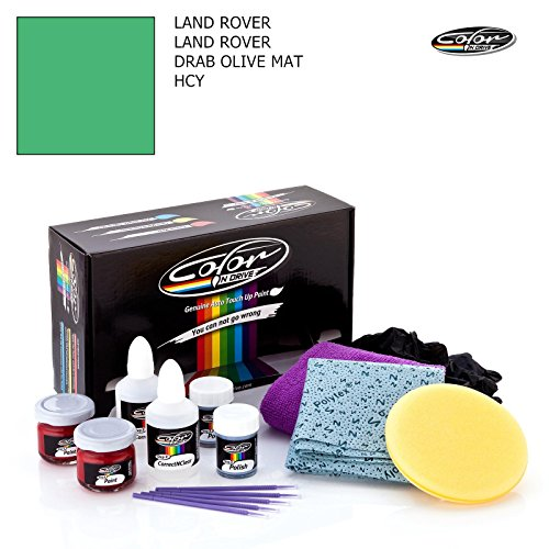 LAND ROVER LAND ROVER / DRAB OLIVE MAT - HCY / COLOR N DRIVE TOUCH UP PAINT SYSTEM FOR PAINT CHIPS AND SCRATCHES / PRO PACK