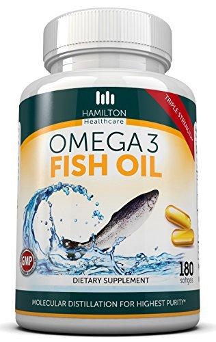 Hamilton Healthcare Triple Strength Omega 3 Fish Oil