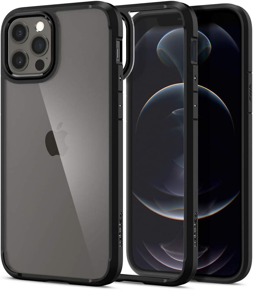 Spigen Ultra Hybrid Designed for iPhone 12 Case (2020) / Designed for iPhone 12 Pro Case (2020) - Matte Black