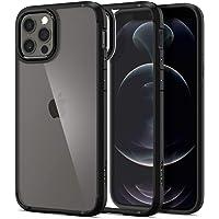 Spigen Ultra Hybrid Designed for Apple iPhone 12 Case (2020) / Designed for iPhone 12 Pro Case (2020) - Matte Black…