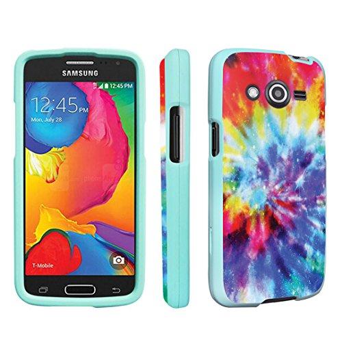 DuroCase ® Samsung Galaxy Avant SM-G386T / G386T Hard Case Mint - (Tie Dye)