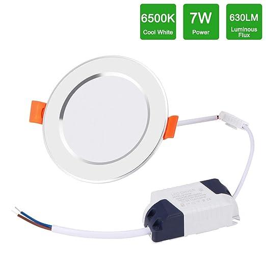 Lámpara de Techo con Sensor de Movimiento 7W, Frontoppy LED Plafón ...