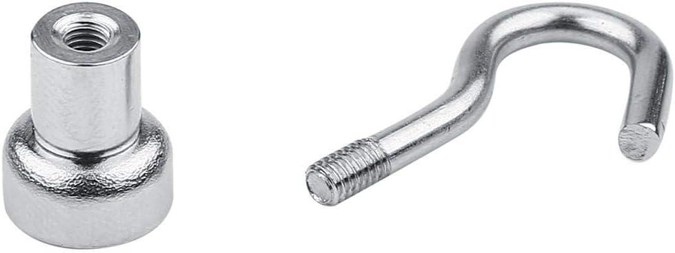 12mm Magnethaken 10 Teile//satz Praktische Schwere Aufh/ängehaken Leistungsstarke Magnethaken Drinnen Organisation Werkzeuge
