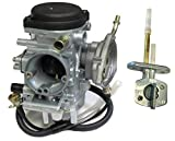 yamaha kodiak 450 carburetor - Carburetor and Fuel Gas Petcock Valve for 2003 - 2006 Yamaha Kodiak 450 ATV NEW