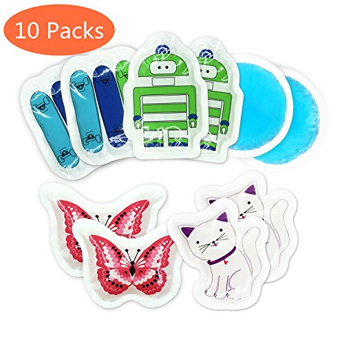 Toddle Kids Ice Pack, Cold Packs, Great for Kids Injuries...