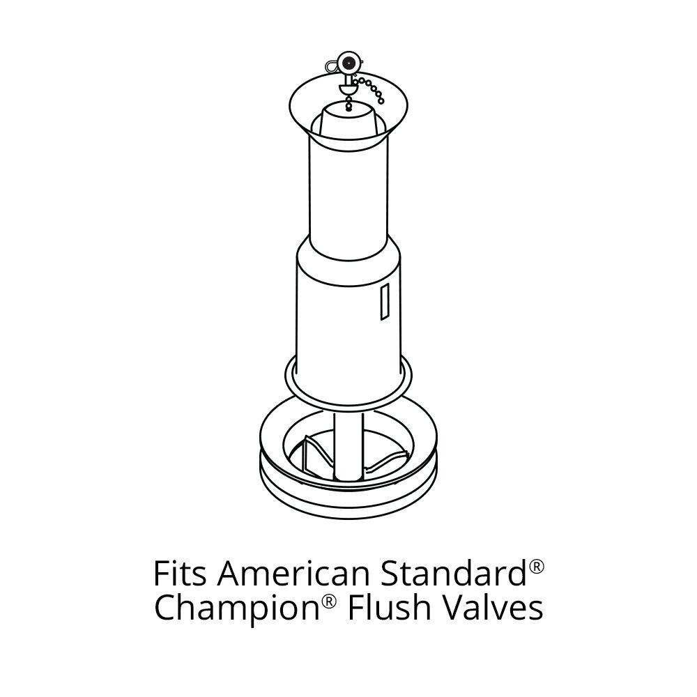 Korky 428BP Flush Valve Seal For American Standard Champion Toilet ...