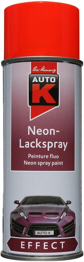 Auto K Kwasny 233 088 Effect Neon Lackspray Rot Fluoreszierend 400ml Auto