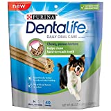 Purina Dentalife Daily Oral Care Small/Medium Dog Treats – 40 Ct. Pouch