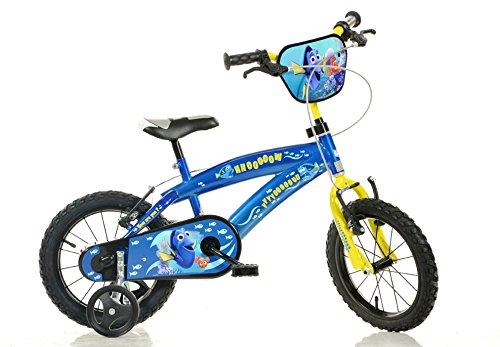 Finding DoryブルーKids Bike – 14インチ子供のバイク – Dino Bikes   B01JP81E2K