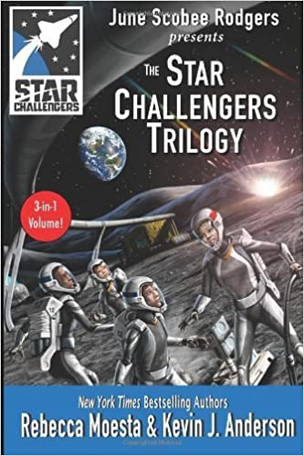 Star Challengers Trilogy: Moonbase Crisis, Space Station Crisis, Asteroid Crisis (Volume 4) by Moesta, Rebecca, Anderson, Kevin J., Scobee Rodgers, June (2014)