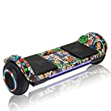 CHO POWER SPORTS Hoverboard Hover Board Electric Scooter Two-Wheel Smart Self Balancing Wheels with Built in Speaker LED Lights (Image 05)