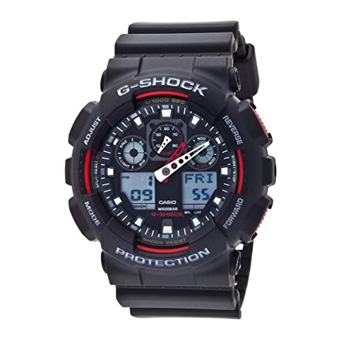 Casio Men's Ga100 G-shock X-large Analog-digital Black Watch Ga-100 (The Hundreds G Shock)
