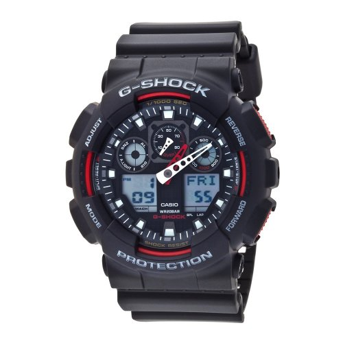 Casio Men's Ga100 G-shock X-large Analog-digital Black Watch - X Large Shock Watch G Casio