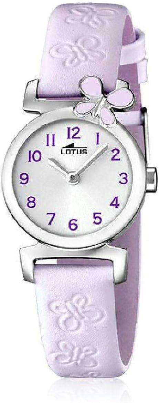 Lotus Reloj Analógico para Niñas de Cuarzo con Correa en Cuero 15948/3