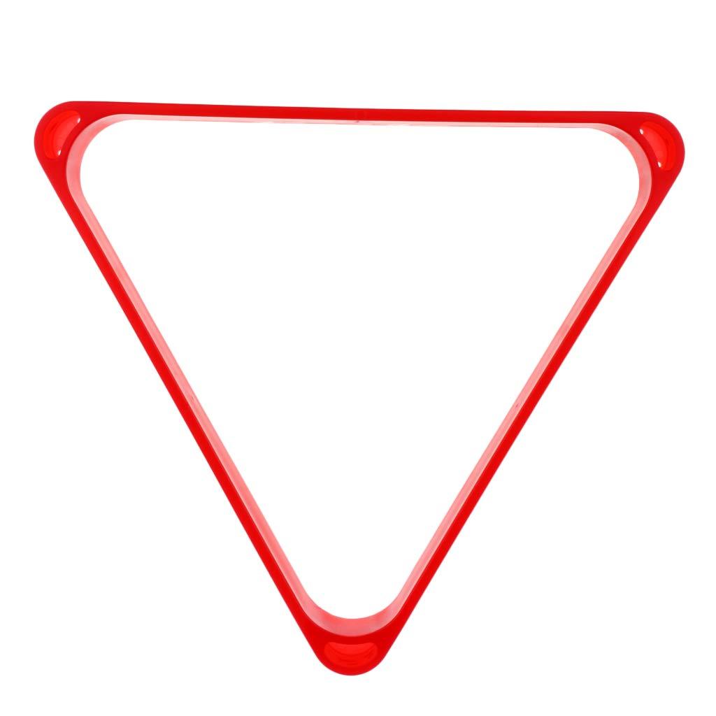 B Baosity Triangle de Billard Support pour 8 Billes de Billard