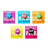 Motivational Bravo Pin Pack – Team & Employee Appreciation and Recognition Gifts– 100% Awesome
