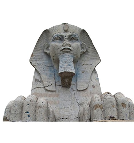 Great Sphinx of Giza - Advanced Graphics Life Size Cardboard Standup (Egyptian Party Decorations)