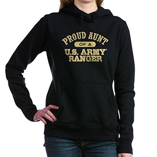 CafePress - Army Ranger Aunt - Pullover Hoodie, Classic & Comfortable Hooded Sweatshirt Black