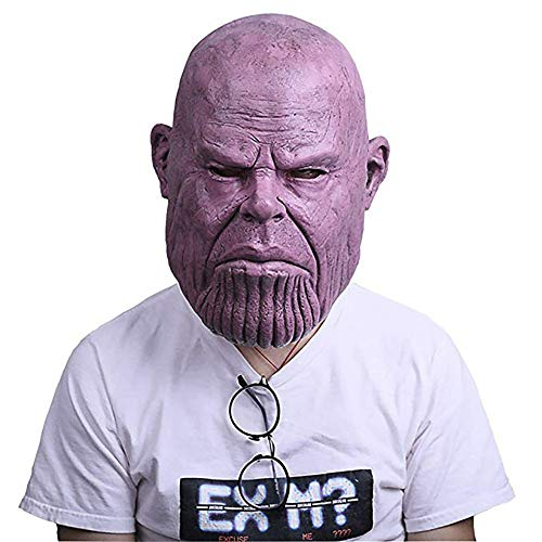Infinity War Infinity Thanos Mask for The Avengers Cosplay Prop Costume Halloween Props ()