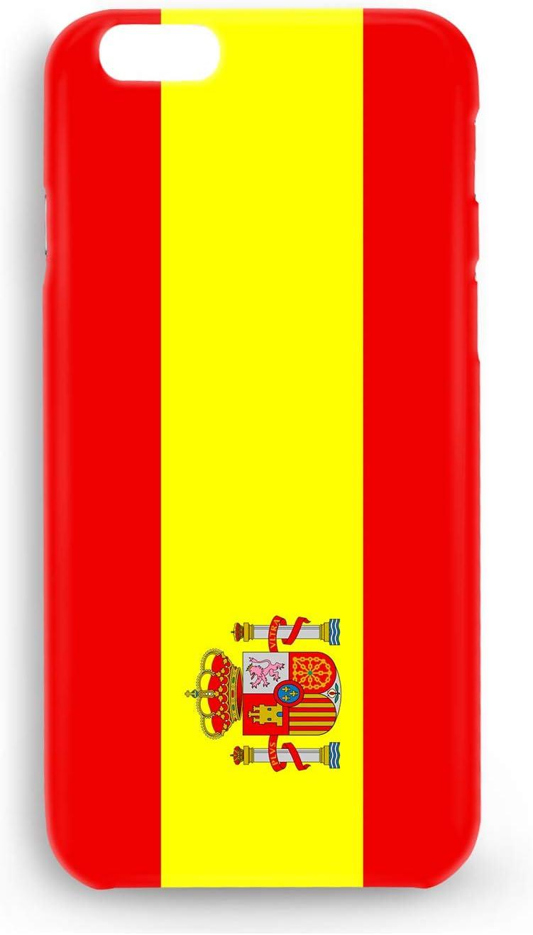 Funda Carcasa Bandera España para Samsung Galaxy S9+ (S9 Plus) plástico rígido: Amazon.es: Electrónica