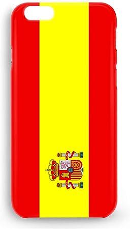 Funda Carcasa Bandera España para iPhone 8 Plus 8PLUS plástico rígido: Amazon.es: Electrónica
