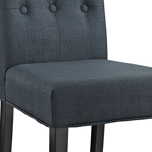Modway Confer Dining Fabric Side Chair, Gray by Modway (Image #5)