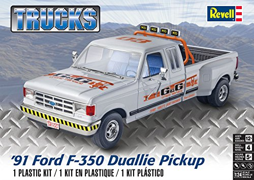 Revell 91 Ford F-350 Duallie Pickup Model Kit