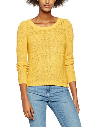 Femme S Pullover KNT Yellow XO Yellow Pull Yolk Only Onlgeena Yolk Noos Jaune L xqBZZ8