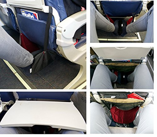 Folding Travel Foot Rest For Long Haul Flights With