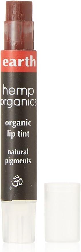 Colorganics Inc., Hemp Organics, Organic Lip Tint, Earth, .09 oz (2.5 g) by Colorganics Inc