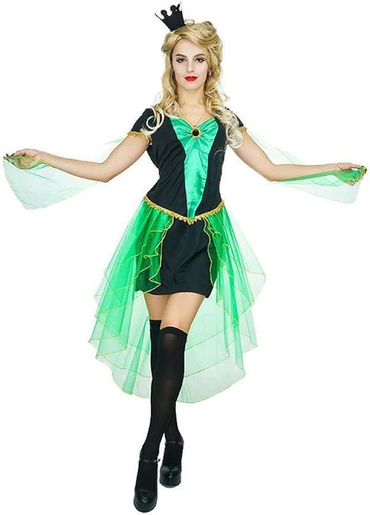 ZAOWEN Disfraz De Halloween Disfraz De Bruja Maga para Mujer ...