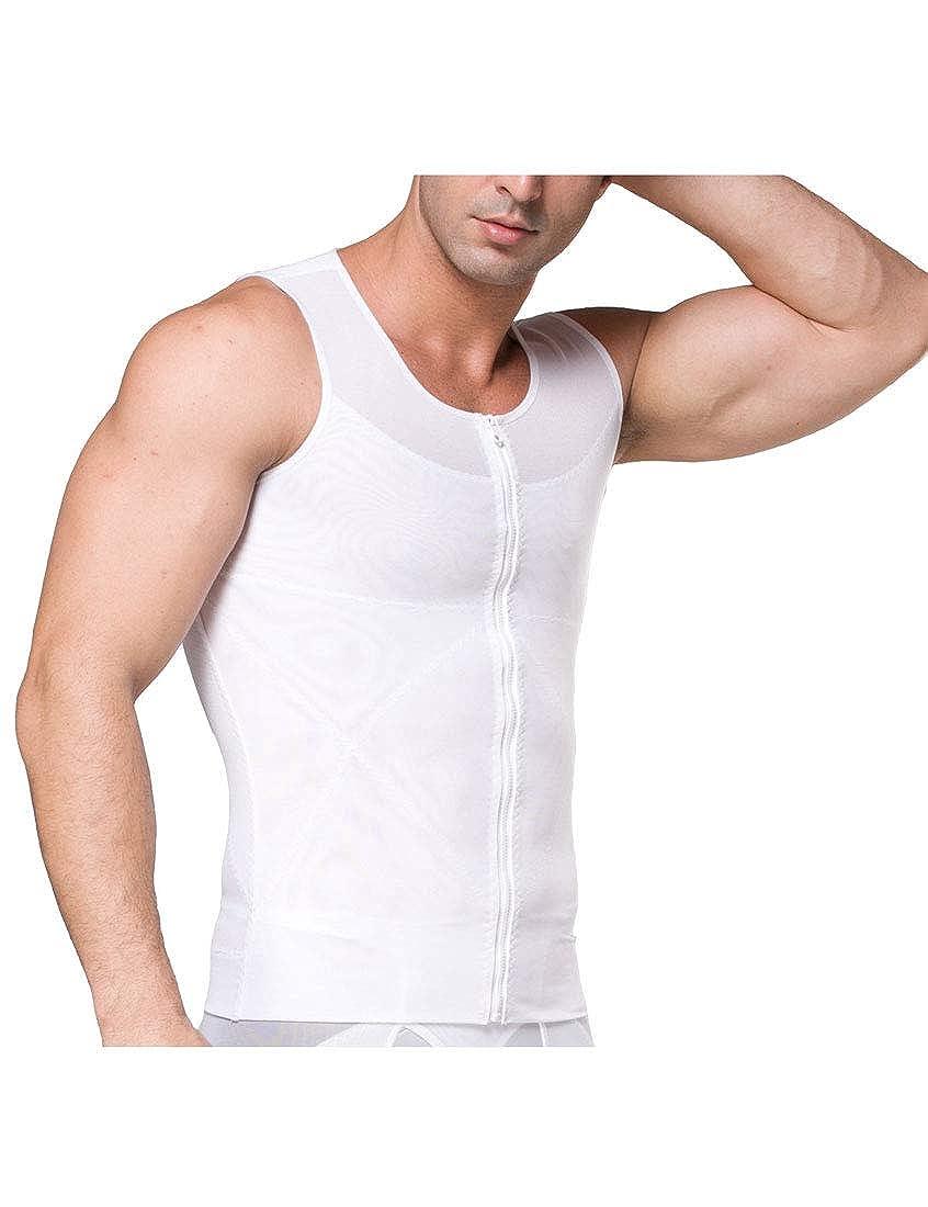 latest styles XiTiaXn XTX Men Beer Belly Zipper Vest Thin Section ...