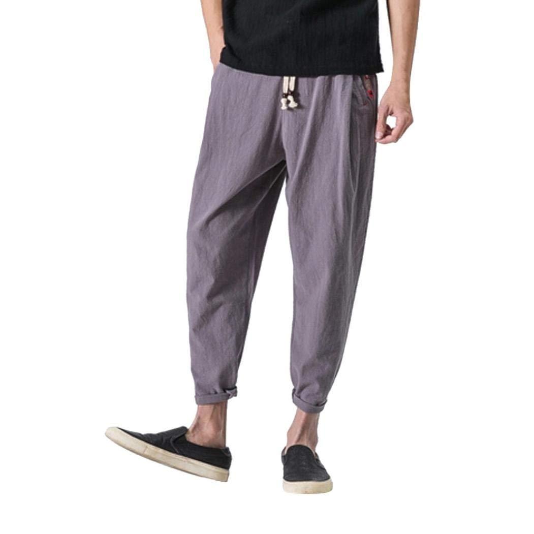 本物品質の Pervobs Mens Pant Pant PANTS メンズ グレー B07G74KLVZ グレー PANTS X-Large, キャトルセゾン:fcae363a --- diceanalytics.pk