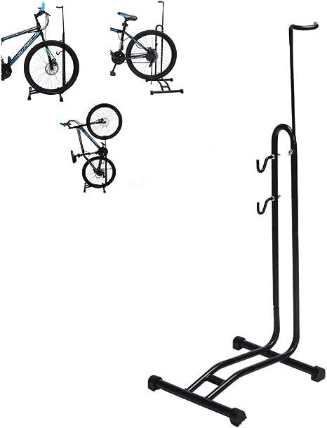 NBCDY 3-en-1 Soporte de estacionamiento para Bicicletas en el ...