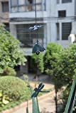 Conglobe Arts Cast Iron Two Dragonfly Windbell Wind Chimes Blackgreen