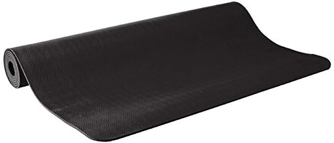 Amazon.com: prAna Large E.C.O. Yoga Mat Black O/S & Cooling ...