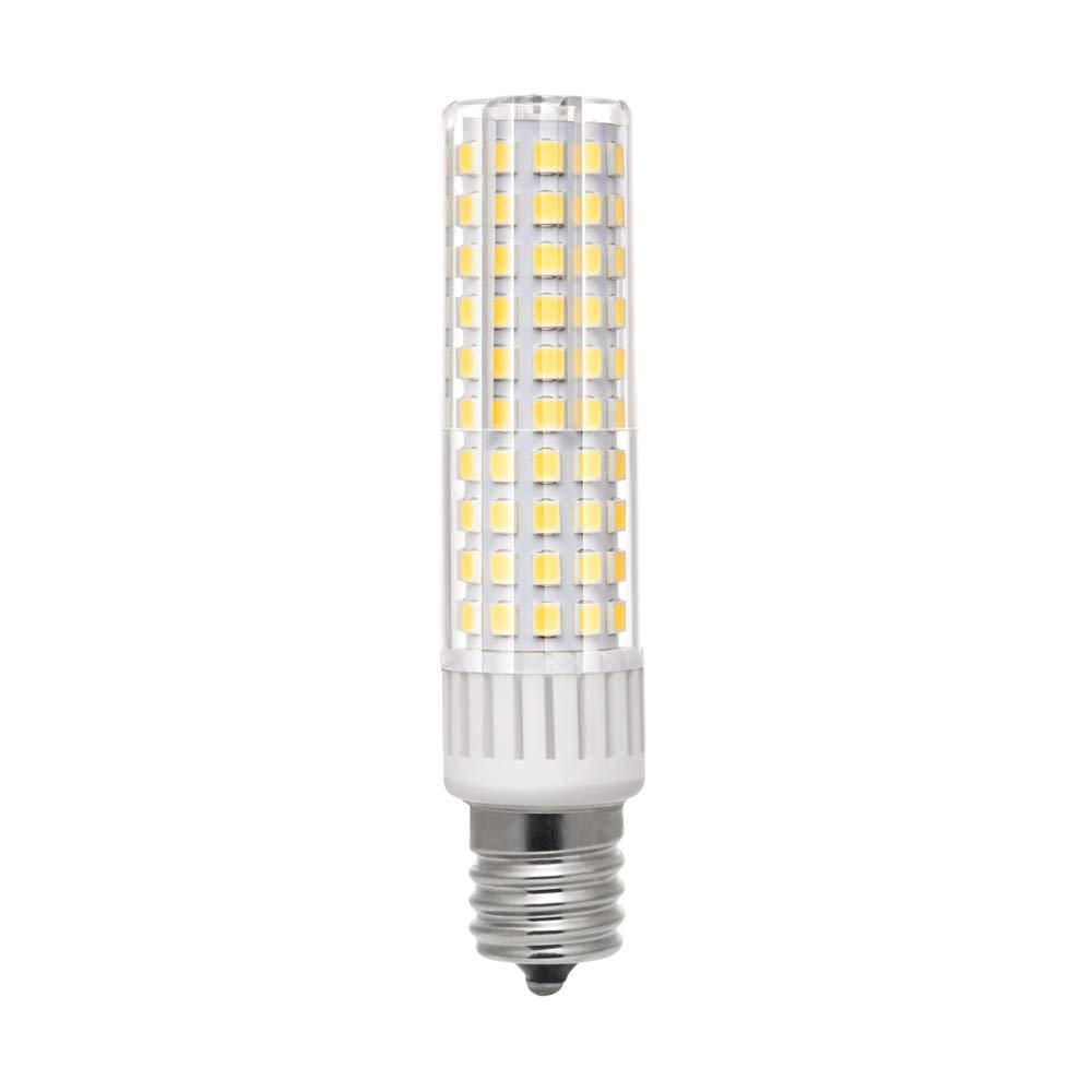 E17 LED Bulb Lights 9 Watt Daylight White 6000K AC 110-130V Intermediate Base 125X2835 SMD for Microwave Oven Light Appliance Lighting,Non Dimmable