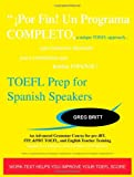TOEFL Prep for Spanish Speakers, Greg Britt, 1442123478