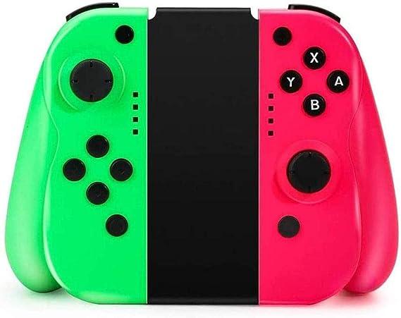 MANSPYF Joy Con Mando Nintendo Switch Joycon Nintendo Switch Joycon Mando Ergonómico Con Mando De Giroscopio De 6 Ejes: Amazon.es: Videojuegos