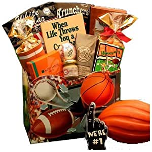 All Star Sports Themed Gourmet Gift Box -Great Gift Idea for Men