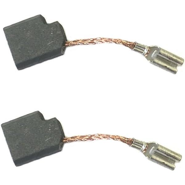 DeWalt 2 Pack of Genuine OEM Replacement Carbon Brushes # 323660-00-2PK