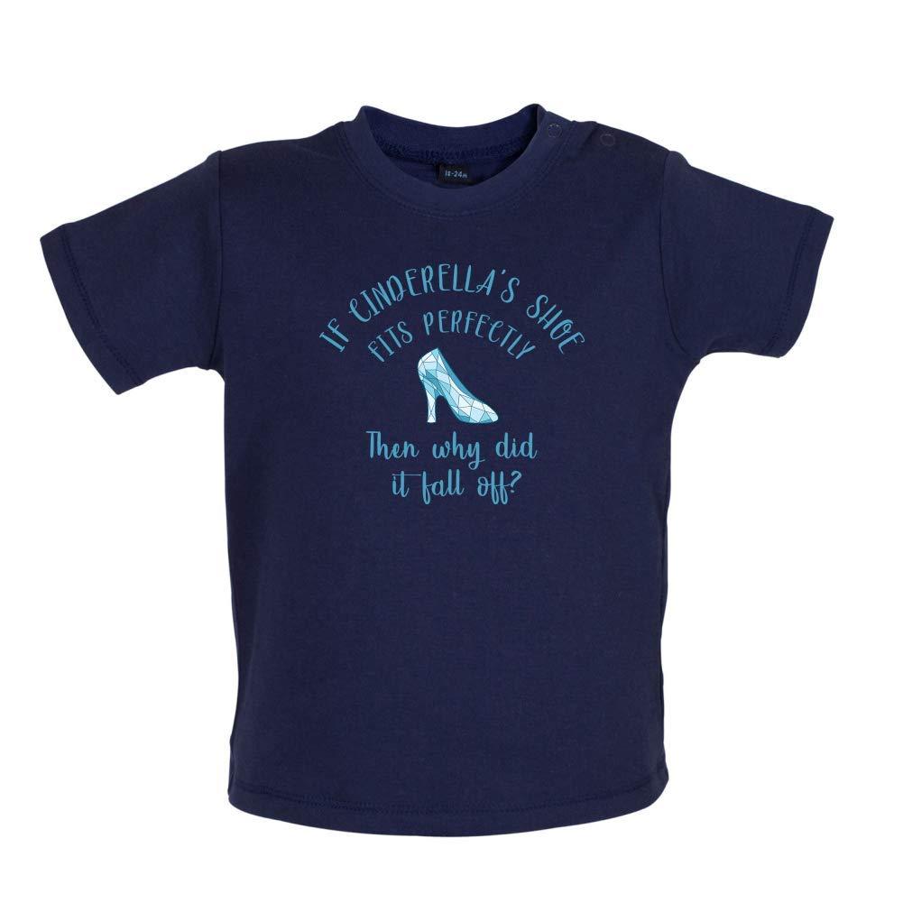 Dressdown Princess Slipper Baby T-Shirt 8 Colours 3-24 Months