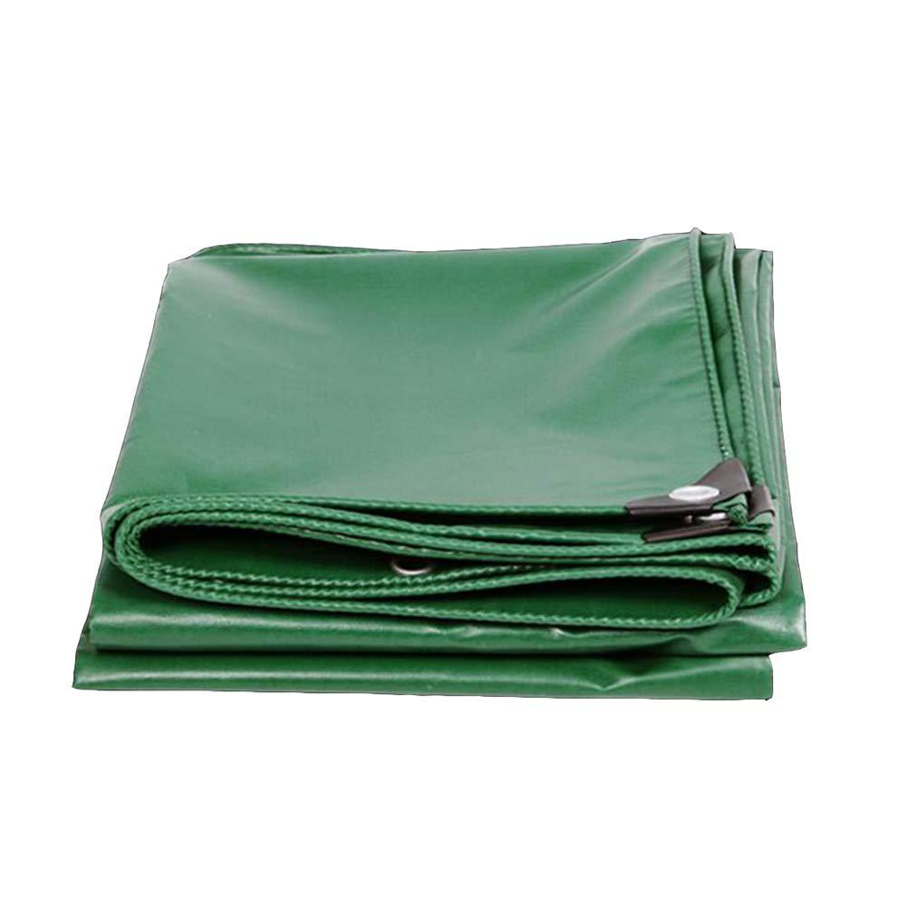 DALL ターポリン レインクロス 多目的 防水 UV耐性 ターポリン ウィンドプロテクター (色 : Green, サイズ さいず : 5*7m) 5*7m Green B07KMZD62V