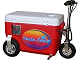 Cruzin Cooler Electric Scooter Cooler, Red, 300 W