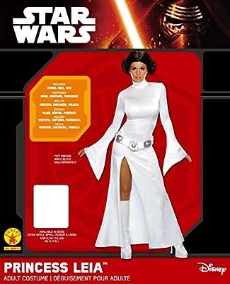 Star Wars ST-888610M - Disfraz de princesa Leia para adulto, color ...