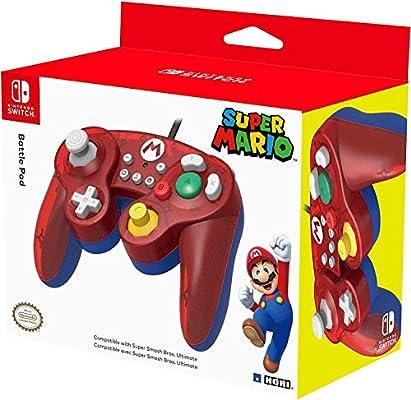 HORI - Battle Pad Mario (Nintendo Switch): Amazon.es: Videojuegos
