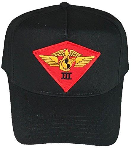 Marine Air Wing - USMC 3RD MAW MARINE AIR WING HAT - BLACK - Veteran Owned Business