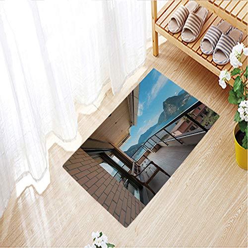 3D Printing Doormat Collection Rectangular Doormat (Machine-Washable/Non-Slip),23.6